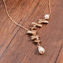 abordables Collares-Mujer Perla Collares con colgantes - Perla Gota Vintage, Moda Plata, Dorado Gargantillas Para Fiesta, Diario, Casual