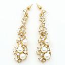 preiswerte Modische Ohrringe-Damen Quaste Tropfen-Ohrringe - Künstliche Perle, Diamantimitate Modisch Gold Für Alltag / Verabredung