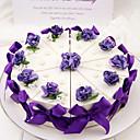 hesapli Pasta Kutuları-Silindir Kart Kağıdı Favor Tutucu ile Fiyonk / Kurdeleler / Çiçekli Hediye Kutuları