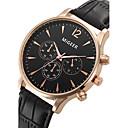 abordables Pulseras-Hombre Reloj de Pulsera Reloj Casual / Cool Piel Banda Moda Negro / SSUO LR626
