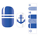 cheap Full Nail Stickers-1 pcs Fashion 3D Nail Stickers Daily