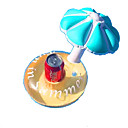 cheap Inflatable Ride-ons & Pool Floats-Cup Inflatable Coater Drink / Inflatable Pool Float PVC 3pcs Kid's