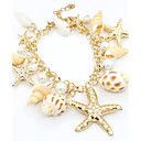 cheap Bracelets-Women's Pearl Charm Bracelet - Imitation Pearl, Gold Plated Star Fashion Bracelet Gold For Daily