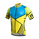 cheap Cycling Jerseys-Fastcute Men's Short Sleeve Cycling Jersey Classic Bike Jersey Top, Breathable Quick Dry Sweat-wicking Coolmax® / Stretchy