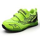 baratos Glitter para Unhas-Para Meninos Sapatos Couro Ecológico Outono Conforto Tênis Caminhada Velcro / LED para Verde