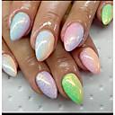 baratos Glitter para Unhas-1pc unha arte beleza farinha de peixe cebola dourada iridescência brilho 10g sacos cinco cores opcionais