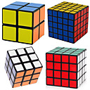 cheap Board Games-Rubik's Cube 4 PCS Shengshou 2*2 5*5*5 4*4*4 3*3*3 2*2*2 Smooth Speed Cube Magic Cube Puzzle Cube Professional Level Speed Gift Classic &