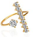 baratos Anéis-Mulheres Anel de declaração - Fashion 6 / 7 / 8 Prata / Dourado / Dourado / Rosa Para Casamento / Festa