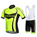 cheap Fans & Parasols-Fastcute Men's / Women's Short Sleeve Cycling Jersey with Bib Shorts Bike Bib Shorts / Jersey / Bib Tights, Quick Dry, Breathable, Sweat-wicking Polyester, Lycra Sports / Stretchy / Clothing Suit
