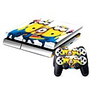 preiswerte PS4 Zubehör-B-SKIN Aufkleber Für PS4 . Aufkleber PVC 1 pcs Einheit
