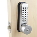 halpa Kulunvalvonta- ja läsnäolojärjestelmät-Ruostumaton teräs Password Lock Smart Home Security järjestelmä Koti Huvila Hotelli Huoneisto Ruostumaton teräsovet Composite Door Puinen