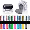 abordables Purpurina para Manicura-1PC Glitter y Poudre / Polvo Glitters / Clásico / Brillo y chispa Nail Art Design Diario