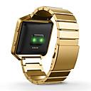 halpa Puhelimen kuoret & Näytön suojakalvot-Watch Band varten Fitbit Blaze Fitbit Perinteinen solki Metalli Rannehihna