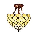 abordables Chandeliers Muraux-Montage du flux Lumière d'ambiance - LED Designers, Tiffany, 110-120V 220-240V Ampoule non incluse