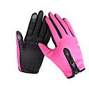 tanie Rękawiczki-Rękawiczki rowerowe / Rękawice narciarskie / Rękawiczki dotykowe Męskie / Damskie Rękawiczki z zakrytymi palcami Odporność na wiatr / Wodoodporny / Zatrzymujący ciepło Płótno / Polar Narciarstwo