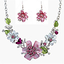cheap Jewelry Sets-Women's Jewelry Set - Vintage, Fashion, Statement Include Necklace / Earrings Assorted Color For Wedding / Party / Daily