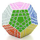 baratos Cubos de Rubik-Cubo mágico Cubo QI Shengshou MegaMinx 5*5*5 Cubo Macio de Velocidade Cubos mágicos Brinquedo Educativo Cubo Mágico Nível Profissional Velocidade Concorrência Aniversário Clássico Crianças Adulto