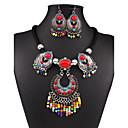 abordables Gargantillas-Mujer Conjunto de joyas - Vintage, Europeo, Moda Incluir Collar / pendientes Arco iris Para Boda / Fiesta / Diario / Pendientes / Collare
