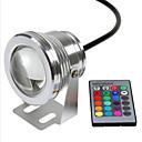 tanie Światła drogi-Rgb 10w lampa podwodna wodoodporne napięcie bezpieczeństwa dc12v podwodne kolorowe światła v1pc