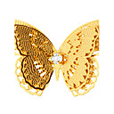 cheap Keychains-Women's Brooches - Butterfly, Animal Fashion Brooch Golden For Wedding / Party / Daily