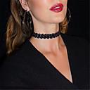 preiswerte Modische Halsketten-Damen Halsketten / Tattoo-Hals - Tattoo Stil, Europäisch, Modisch Schwarz, Beige Modische Halsketten Für Party, Alltag, Normal