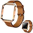 baratos Capinhas para Celular & Protetores de Tela-Pulseiras de Relógio para Fitbit Blaze Fitbit Pulseira Esportiva Couro Tira de Pulso