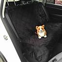 olcso Kutyák - kulcsdarabok utazáshoz-Kutya Autós üléshuzat Házi kedvencek Matracok & polifoamok Egyszínű Vízálló Összecsukható Fekete Barna Háziállatok számára