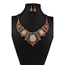 abordables Juego de Joyas-Mujer Conjunto de joyas - Vintage, Europeo, Moda Incluir Collar / pendientes Arco iris Para Boda / Fiesta / Diario / Pendientes / Collare