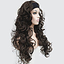 cheap Synthetic Half Wigs-Synthetic Wig Curly Synthetic Hair Wig Women's Long Capless
