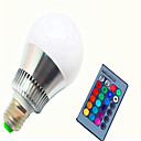 levne LED Smart žárovky-8W 350-450lm E14 GU10 E26 / E27 LED chytré žárovky G80 1 LED korálky High Power LED Stmívatelné Dálkové ovládání R GB 85-265V