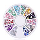 hesapli Pratik Hediyelikler-1 pcs Nail Jewelry madeni / Moda Günlük Tırnak Tasarımı Tasarımı / PVC