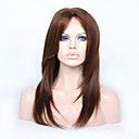 cheap Human Hair Wigs-Virgin Human Hair Glueless Lace Front / Lace Front Wig Brazilian Hair Straight Wig Layered Haircut / With Baby Hair 130% / 150% / 180% Natural Hairline / African American Wig Women's Human Hair Lace