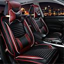 voordelige Stuurhoezen-Auto-stoelhoezen Stoel hoezen Zwart Leder Zakelijk for Universeel XA / XB