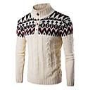 preiswerte Parykopfbedeckungen-Herrn Sport Langarm Pullover - Einfarbig