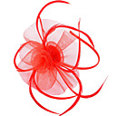 cheap Party Headpieces-Women's Party Jewelry / Vintage / Party Feather / Fabric Headband / Fascinators / Fascinators