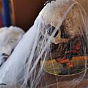 billige Halloweenprodukter-populær morsom plast spindelvev bomull for halloween fest dekorasjon bar scene rekvisitter