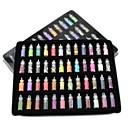 abordables Purpurina para Manicura-48 pcs Joyería de uñas Glitters / Clásico Diario