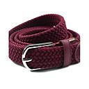 abordables Relojes Inteligentes-Mujer Metálico Brillante, Tejido Legierung Cinturón Slim - Cinturón Vestido Un Color