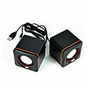 cheap Speakers-Computer Mini Speaker Stereo Portable Notebook Desktop Laptop USB Speakers