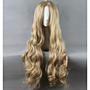 cheap Synthetic Capless Wigs-Synthetic Wig / Cosplay & Costume Wigs Straight Synthetic Hair Middle Part Blonde Wig Women's Long / Very Long Capless
