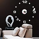 abordables Pelucas para Disfraz-Moderno/Contemporáneo / Oficina/ Negocios Casas / Escuela/Graduación / Amigos / Familia Reloj de pared,Redondo Acrílico / Vidrio