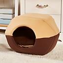 זול חתול מיטות & מנשאים-חתול / כלב מיטות חיות מחמד משטחים רך חום / אדום / כחול עבור חיות מחמד