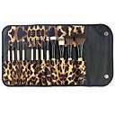 hesapli makyaj fırça setleri-12pcs Makyaj fırçaları Profesyonel Fırça Setleri / Allık Fırçası / Kontur Fırçası Sentetik Saç Tam Kaplama / Bakterileri Kısıtlar