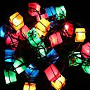 billige Festdekor-Jul dekorasjon lys gavepose artikkelen led twinkle lys tre lys våren festivalen dekorasjon