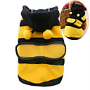 cheap Dog Clothes-Cat Dog Costume Hoodie Dog Clothes Animal Yellow Cotton Costume For Pets Men's Women's Cute Cosplay