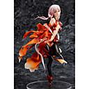 זול דמויות אקשן של אנימה-נתוני פעילות אנימה קיבל השראה מ Guilty Crown Inori Yuzuriha PVC 20 cm CM צעצועי דגם בובת צעצוע