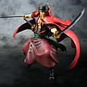 billige Anime actionfigurer-Anime Action Figurer Inspirert av One Piece Roronoa Zoro PVC 23 cm CM Modell Leker Dukke