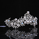 cheap Flower Baskets-Imitation Pearl / Rhinestone / Alloy Tiaras with 1 Wedding / Special Occasion / Casual Headpiece