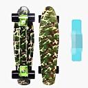 baratos Skate-Skates padrão Camuflado Red Camouflage