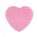 abordables Bolsas y Accesorios para Pinceles-1 PC Bolsas y Limpiadores para Pinceles Silicona Heart Shape